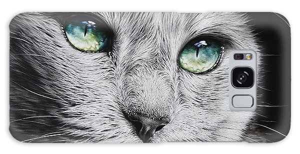 Green-eyed Diva Galaxy Case