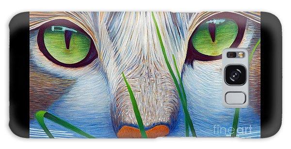 Green Eyes Galaxy Case