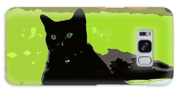 Green Eyes Galaxy Case by David Lee Thompson