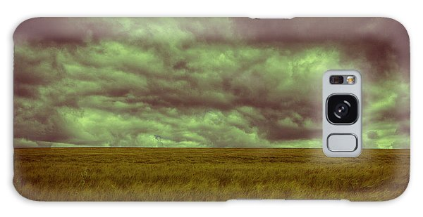 Green Fields 3 Galaxy Case by Douglas Barnard