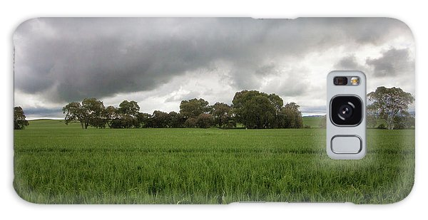Green Fields 5 Galaxy Case by Douglas Barnard