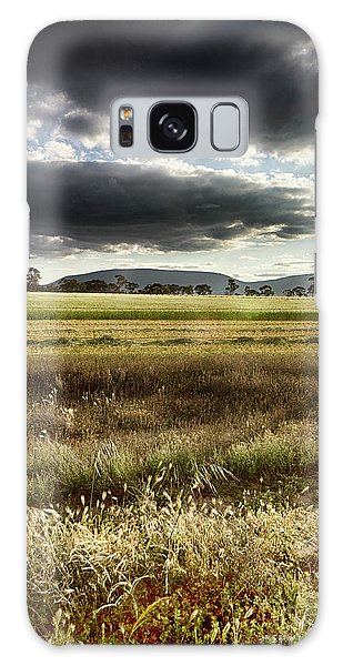 Green Fields 6 Galaxy Case by Douglas Barnard
