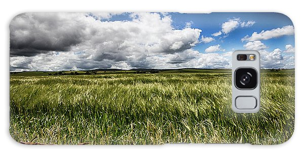 Green Fields Galaxy Case by Douglas Barnard