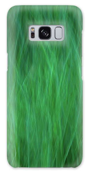 Green Fire 2 Galaxy Case