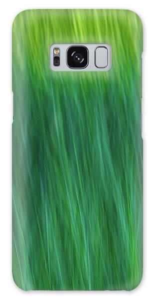 Green Fire 4 Galaxy Case