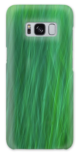Green Fire 6 Galaxy Case