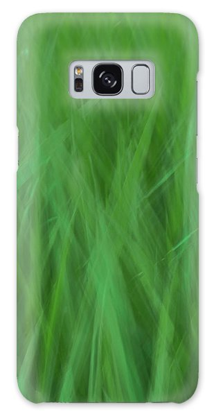 Green Fire 8 Galaxy Case