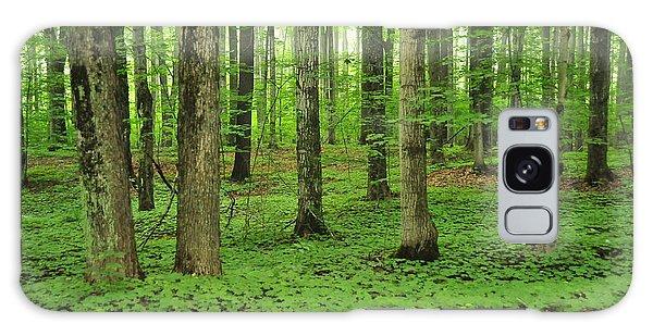 Green Forest Galaxy Case