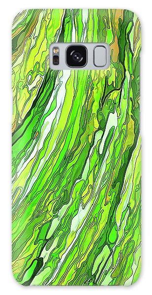 Green Garden Galaxy Case by ABeautifulSky Photography