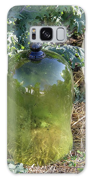 Royal Colony Galaxy Case - Green Garden Cloche by Teresa Mucha
