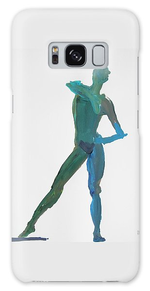 Green Gesture 2 Pointing Galaxy Case