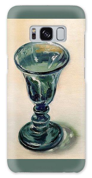 Green Glass Goblet Galaxy Case