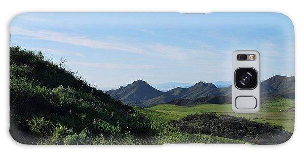 Galaxy Case featuring the photograph Green Hills Landscape by Matt Harang