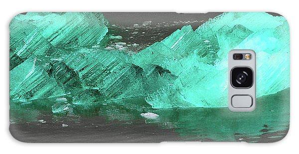 Green Iceberg Galaxy Case