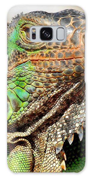 Green Iguana Series Galaxy Case