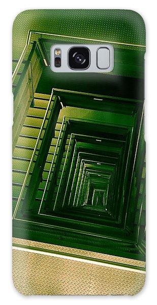 Green Infinity Galaxy Case