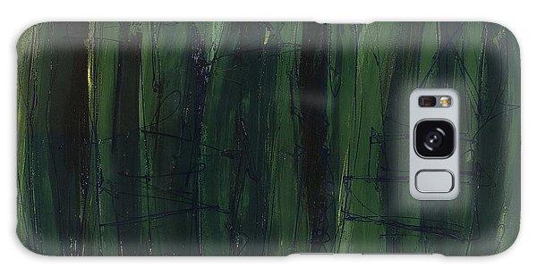 Green Is Good Galaxy Case by Lynne Taetzsch
