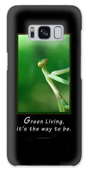 Green Living Galaxy Case