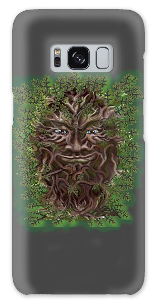 Green Man Of The Forest Galaxy Case