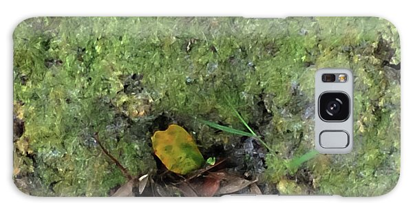 Green Man Spirit Photo Galaxy Case
