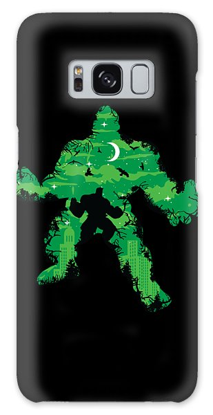 Green Monster Galaxy Case