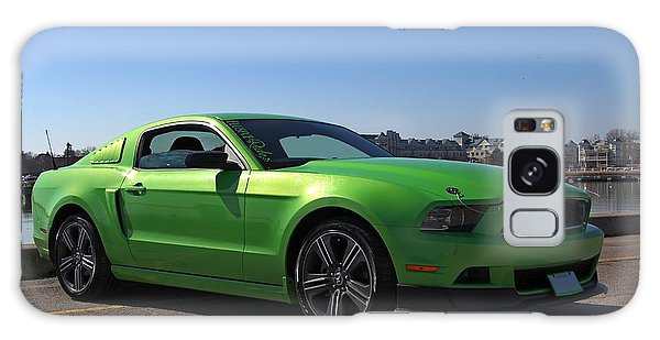 Green Mustang Galaxy Case