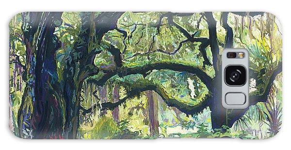Green Oaks Galaxy Case by David Randall