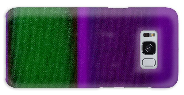 Green On Magenta Galaxy Case by Charles Stuart