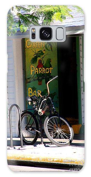 Green Parrot Bar Key West Galaxy Case