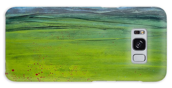 Green Pastures Galaxy Case