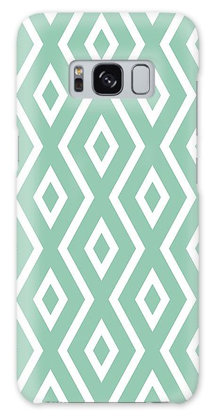 Light Galaxy Case - Light Sage Green Pattern by Christina Rollo