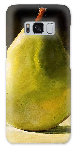 Green Pear Galaxy Case by Toni Grote