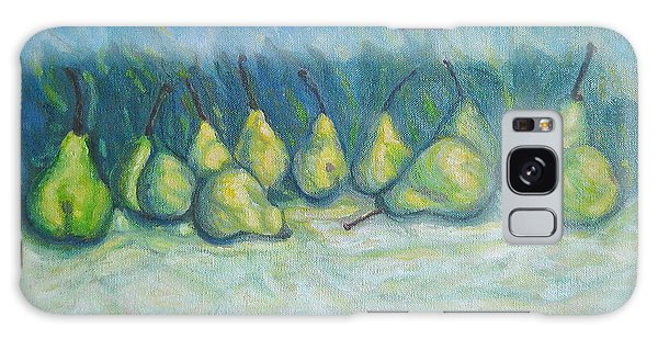 Green Pears Galaxy Case