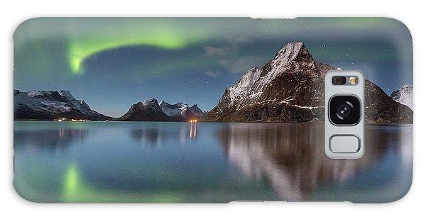 Green Reflection Galaxy Case