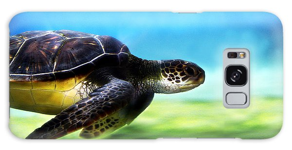 Green Sea Turtle 2 Galaxy Case