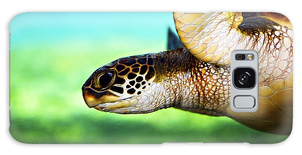 Turtle Galaxy Case - Green Sea Turtle by Marilyn Hunt