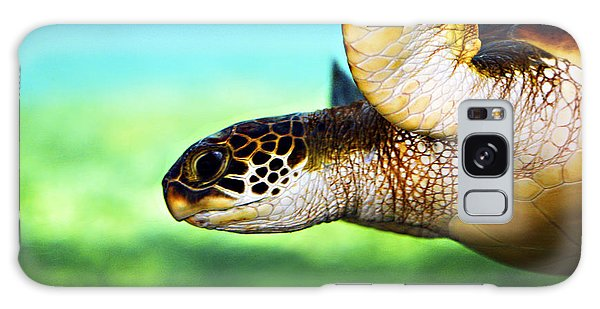 Animal Galaxy Case - Green Sea Turtle by Marilyn Hunt