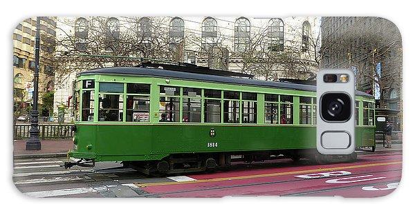 Green Trolley Galaxy Case