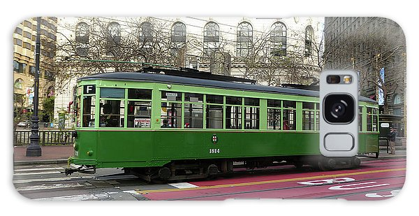 Green Trolley Galaxy Case