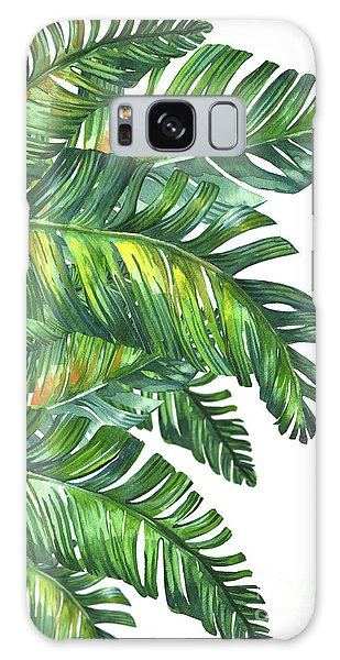 Bird Galaxy Case - Green Tropic  by Mark Ashkenazi