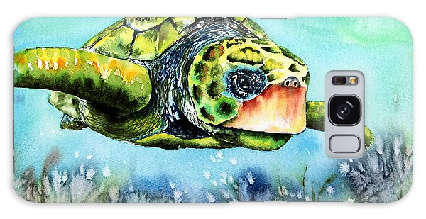 Green Turtle Galaxy Case