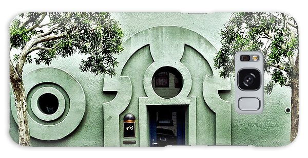 Green Wall Galaxy Case