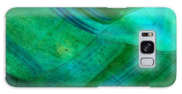 Galaxy Case - Green Wave by Jared Shomo