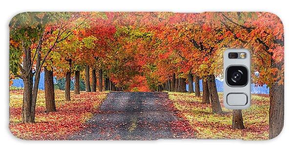 Greenbluff Autumn Galaxy Case