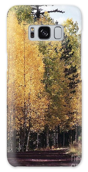 Greer Arizona Aspen Trees Galaxy Case