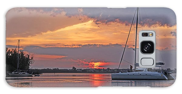 Greet The Day Galaxy Case by HH Photography of Florida