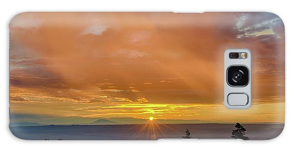 Greet The Marble View Morning Galaxy Case