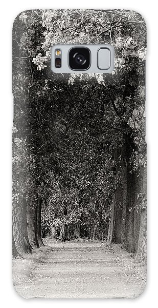 Greeted By Trees Galaxy Case