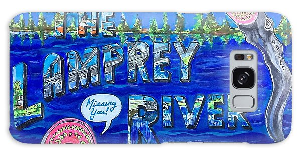 Greetings From The Lamprey River Galaxy Case