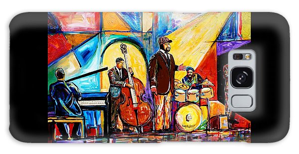 Gregory Porter And Band Galaxy Case by Everett Spruill